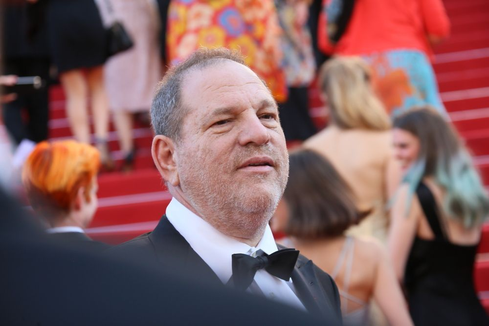 Harvey Weinstein Cannes 2015