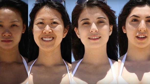 videa s lehkou kůží