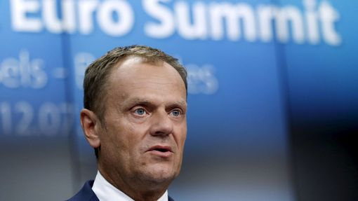 Tusk na summitu v Bruselu