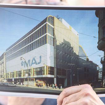 Nejošklivější architektura Česka: Obchodní dům Máj měl vypadat jinak, komunisté to však odmítli