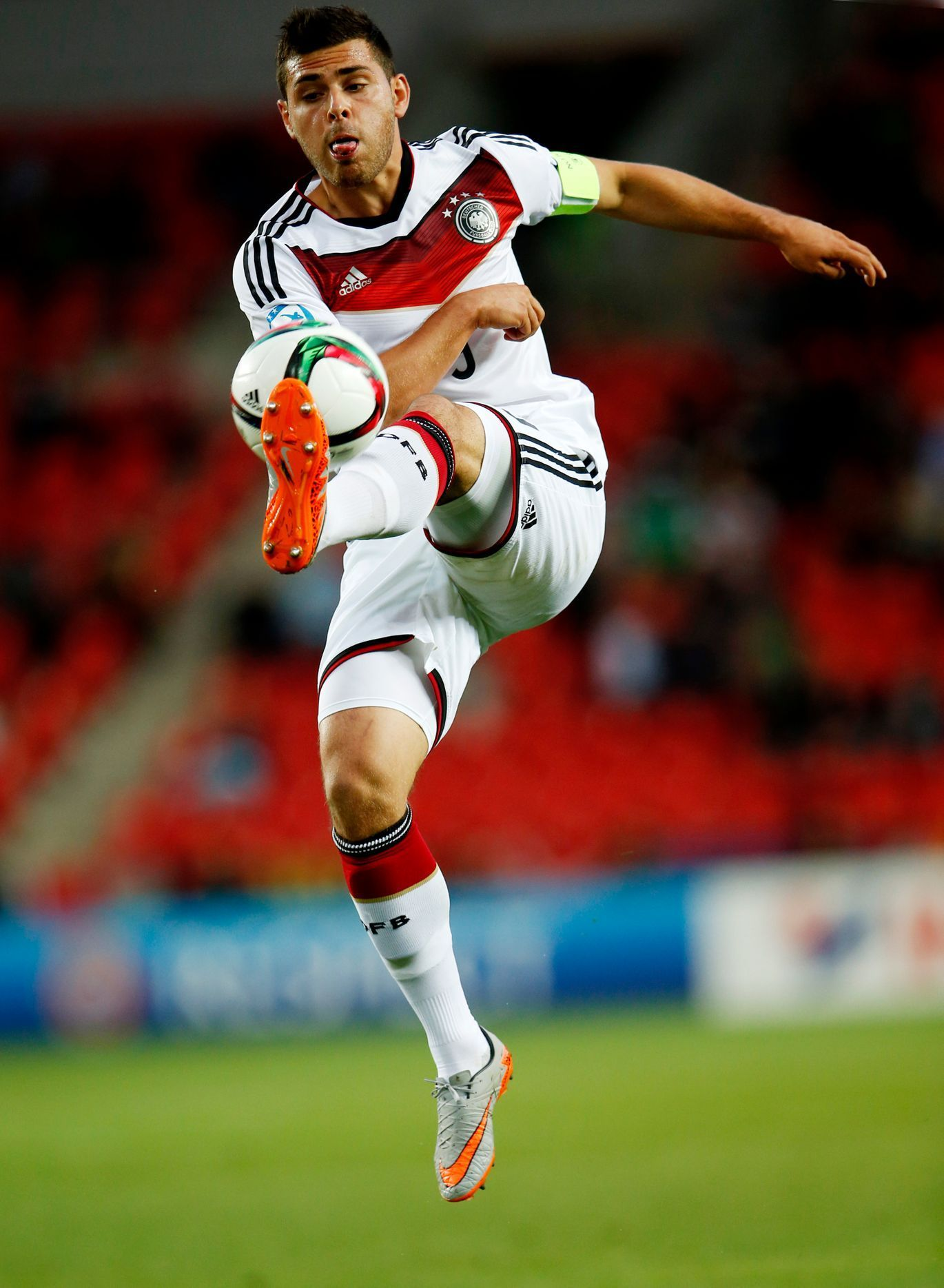 SOC: Germany's Kevin Volland in action