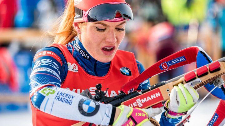 Aura vrcholu sezony cloumá českými biatlonisty. Ustála ji zatím jen Koukalová