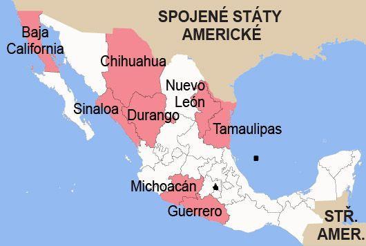 Mapa Mexiko Mapa
