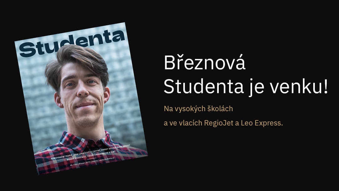 Studenta - březen 2019 cover