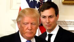 Jared Kushner a Donald Trump