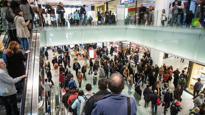 Foto: Nové nákupní centrum u Národní. Podívejte se dovnitř