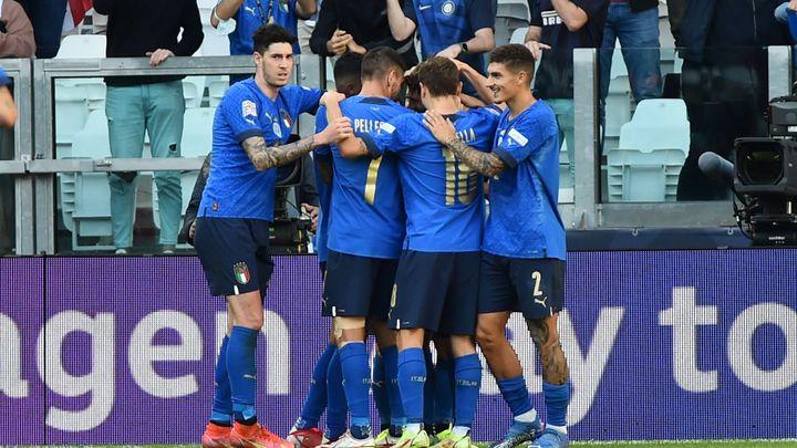 Italové berou v Lize národů bronz, v Turíně přetlačili Belgii 2:1; Zdroj foto: Reuters