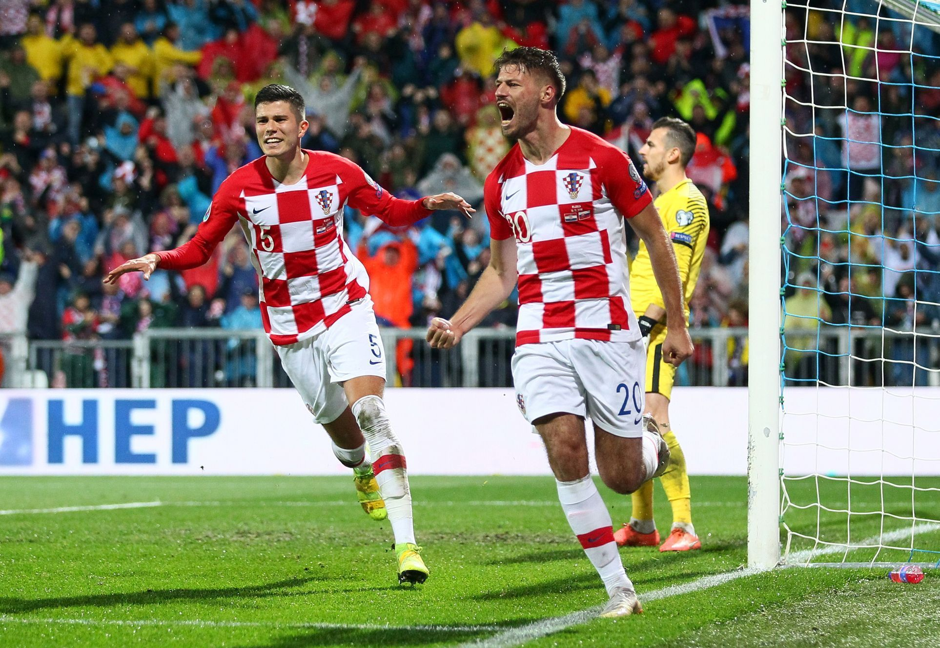 Euro 2020 Qualifier - Group E - Croatia v Slovakia