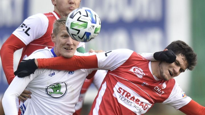 Mladá Boleslav porazila koronavirem oslabené Pardubice 4:1 a vyhrála po třech kolech