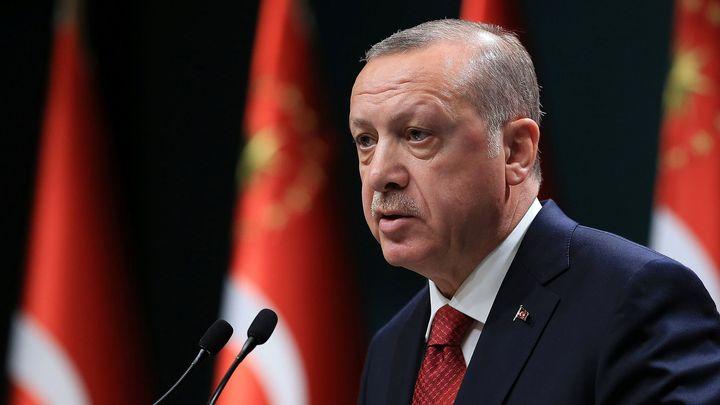 Izrael pronásleduje Palestince jako nacisté Židy, mezi těmi zvěrstvy neexistuje rozdíl, řekl Erdogan