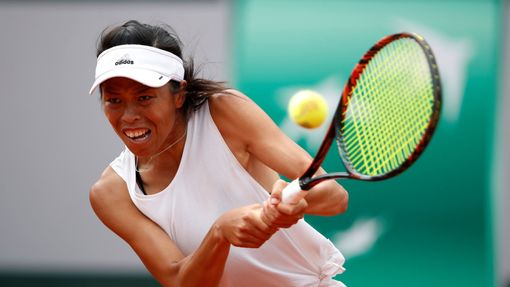 Sie Su-wej na French Open 2017