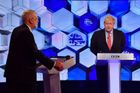 Boris Johnson a Jeremy Corbyn