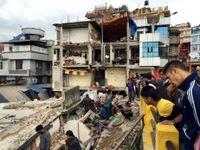 Obrazem: Nepál pustošilo zemětřesení