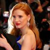 "Cast member Jessica Chastain poses on the red carpet as she arrives for the screening of the film ""The Disappearance of Eleanor Rigby"" at the 67th Cannes Film Festival in Cannes"
