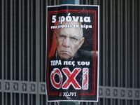 """Foto: Odpůrcům dohody v Řecku """"pomáhá"""" i německý ministr"""