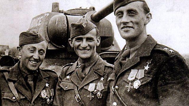 Richard Tesařík, Antonín Sochor a Josef Buršík