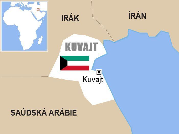 kuvajt mapa sveta Kuvajt   mapa   Aktuálně.cz kuvajt mapa sveta