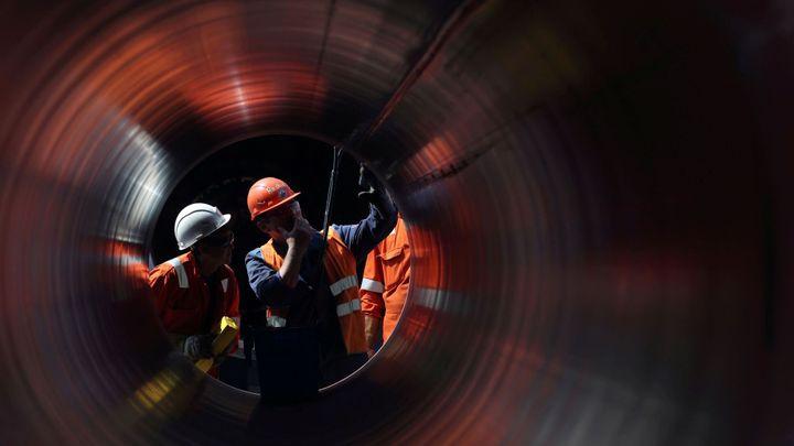 Plynovod Eugal je hotov. Přepravovat bude i ruský plyn z dokončovaného Nord Streamu 2