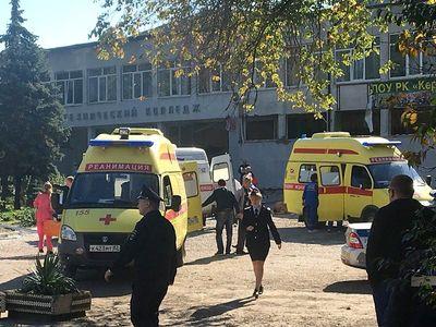 Online: Útočník v krymské škole nastražil výbušninu, pak střílel. Zemřelo 18 lidí