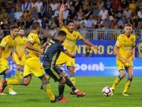 Král Ronaldo. Portugalský fenomén vstřelil vítězný gól Juventusu na hřišti Frosinone
