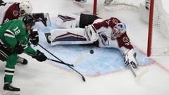 hokej, NHL: Stanley Cup Playoffs-Colorado Avalanche at Dallas Stars, Pavel Francouz, Radek Faksa