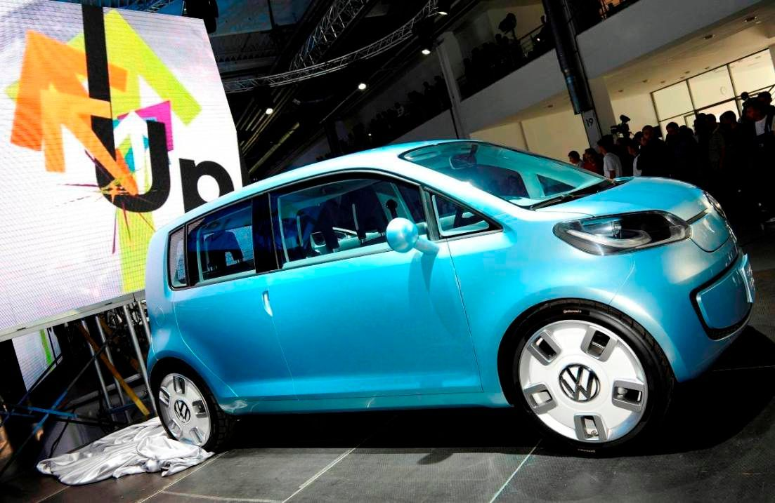 Nový Volkswagen Space Up