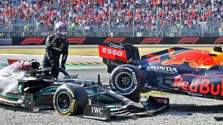 V Monze nečekaně triumfoval Ricciardo, Hamiltona vyřadila kolize s Verstappenem; Zdroj foto: Reuters