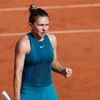 Simona Halepová na French Open 2018