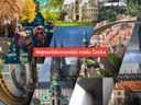 Mapa: Hrady, vodní ráje, zooparky i hřbitovy. Podívejte se, kam v Česku míří nejvíce turistů