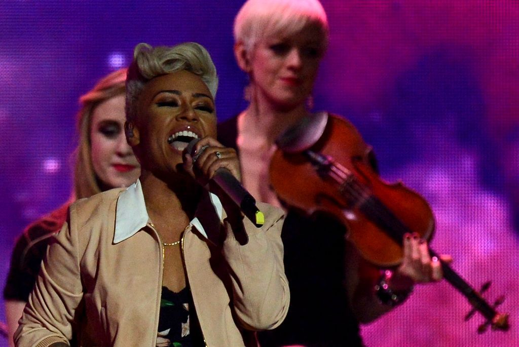 Brit awards Emeli Sandé