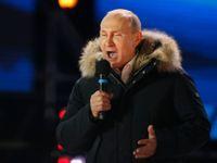 Putin poděkoval za dalších šest let. Musíme být sjednocení, řekl příznivcům v Moskvě