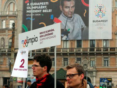 Budapešť stáhne kandidaturu na pořádání OH 2024. Vláda ustoupila masivním protestům lidí
