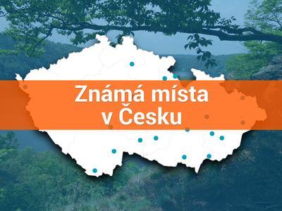 Slepá mapa Česka. Jak dobře znáte známá místa naší republiky? Otestujte své znalosti