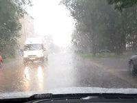 Silné bouřky udeřily v Pardubickém kraji a na Zlínsku. Doprovázel je přívalový déšť a kroupy