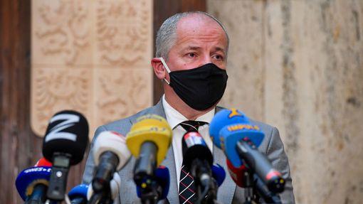 Ministr zdravotnictví Roman Prymula po svém uvedení do úřadu