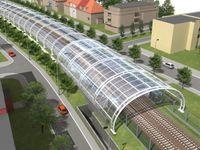 Praha 2029: Nový most přes Vltavu, vlak na letiště a návrat tramvají do centra