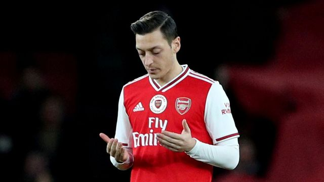 Soccer Football - Premier League - Arsenal v Manchester City - Emirates Stadium, London, Britain - December 15, 2019  Arsenal's Mesut Ozil before the match  REUTERS/Hanna
