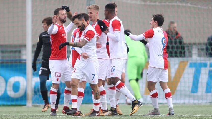 Sparta v přípravě otočila duel s Dány, Slavia rozdrtila tým vedený Cannavarem
