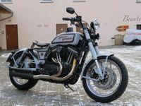 Foto: V Praze vznikl retro Harley-Davidson. Soutěží o krále upravených motocyklů