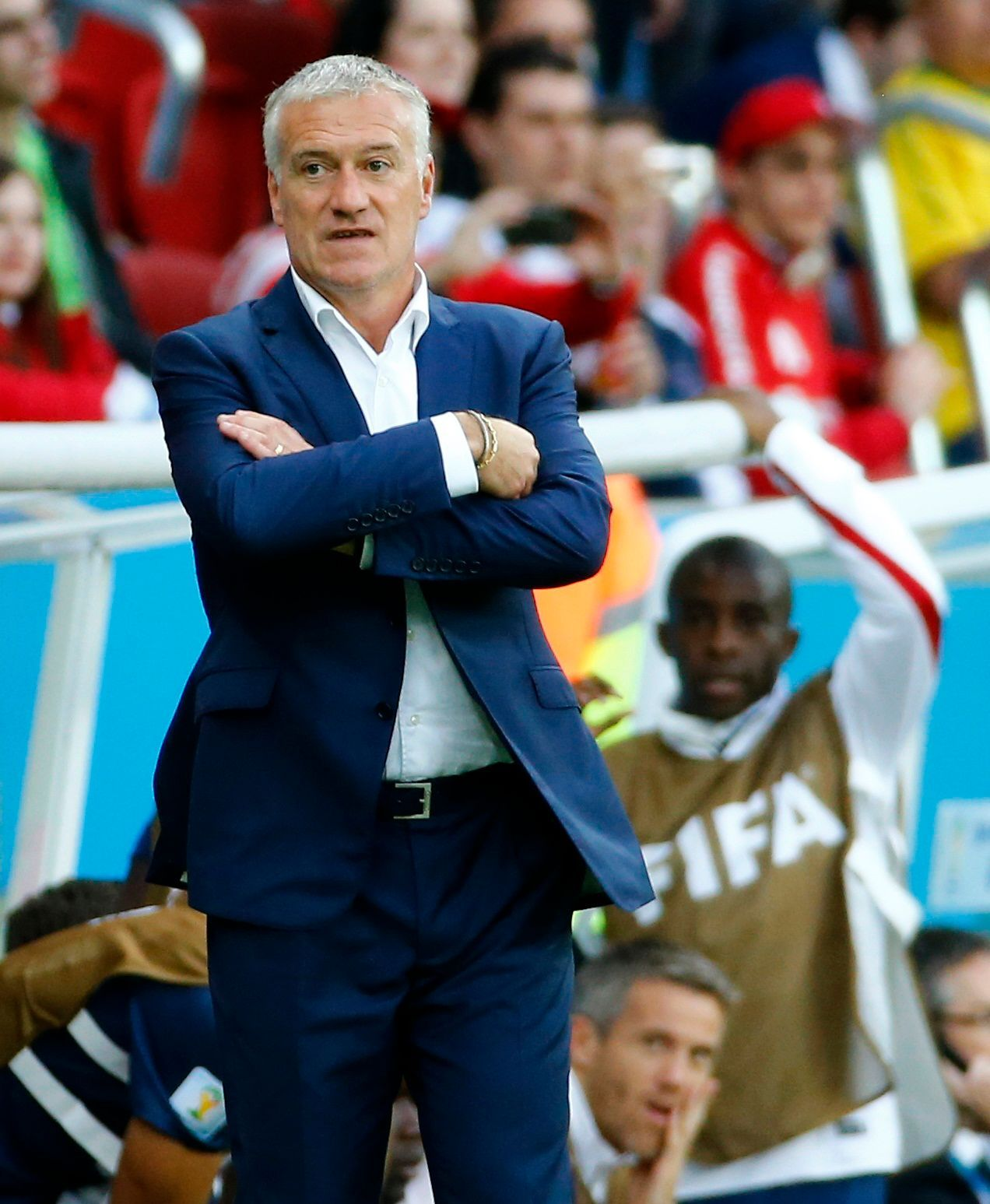 MS 2014, FRA-HON: Didier Deschamps