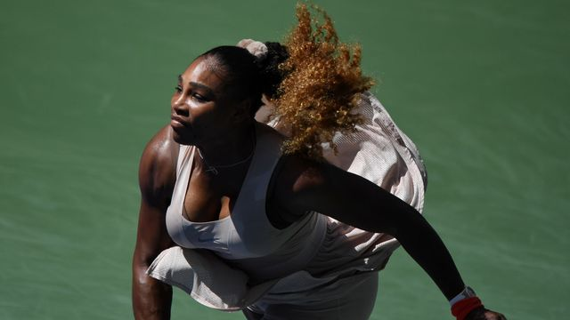 Serena Williamsová na US Open 2020
