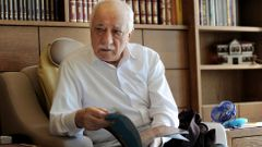 Islamic preacher Fethullah Gulen is pictured at his residence in Saylorsburg