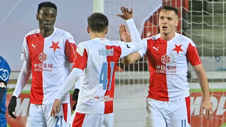 Slavia v poháru Slavii nešetřila. Ta karlovarská schytala v Edenu deset gólů