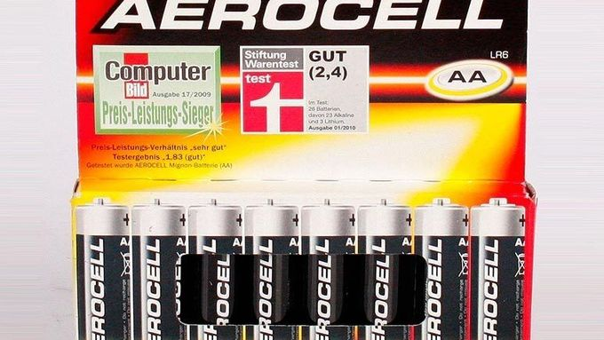 Baterie Aerocell Lidl