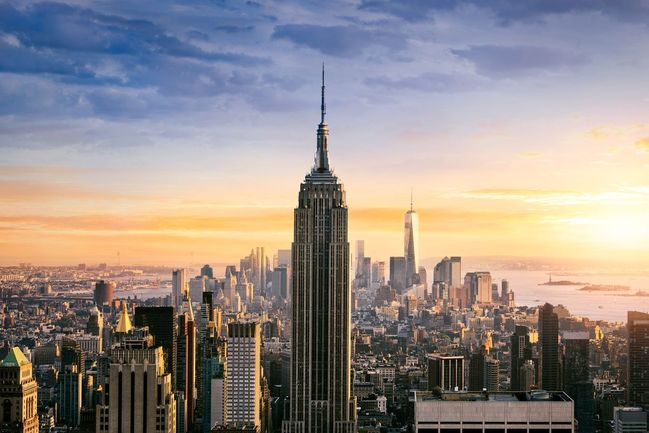 1) Empire State Building, New York