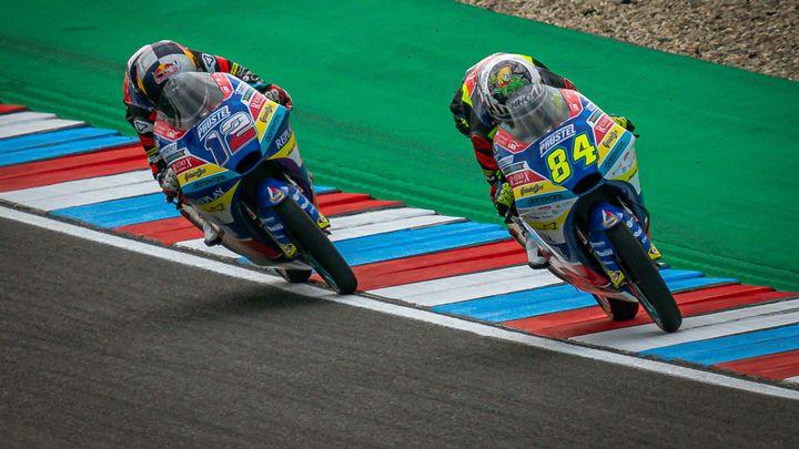 Česká dvojice se v Moto3 rozejde. Salač příští rok zamíří do italského týmu