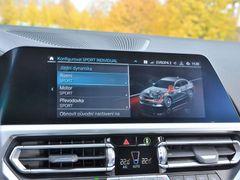 I plug-in hybridní řada 3 nabízí nastavitelné jízdní režimy. Kromě toho jsou tu speciální módy pro hospodaření s baterií.