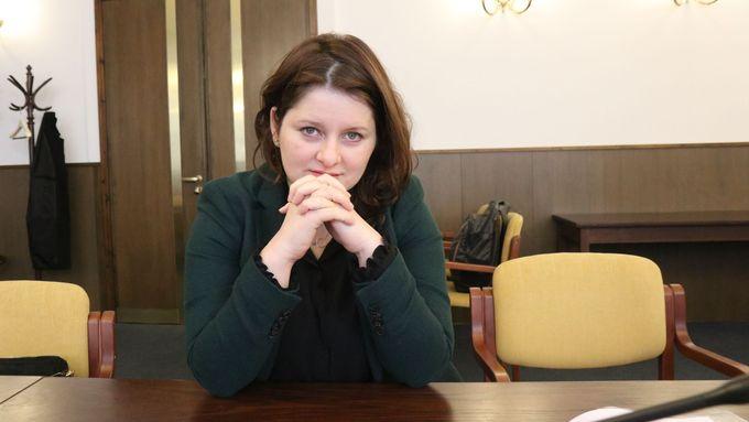 Ministryně práce a sociálních věcí Jana Maláčová, která je zároveň místopředsedkyní ČSSD, v rozhovoru pro Aktuálně.cz v únoru 2020