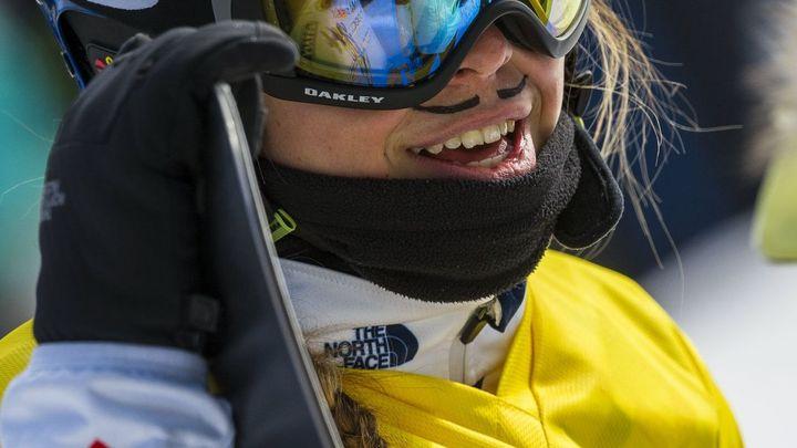 Samková byla v úvodním snowboardcrossu sezony pátá, po pádu vyhrála alespoň malé finále