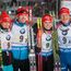 Česká štafeta má biatlonový bronz! Vyhrálo Norsko